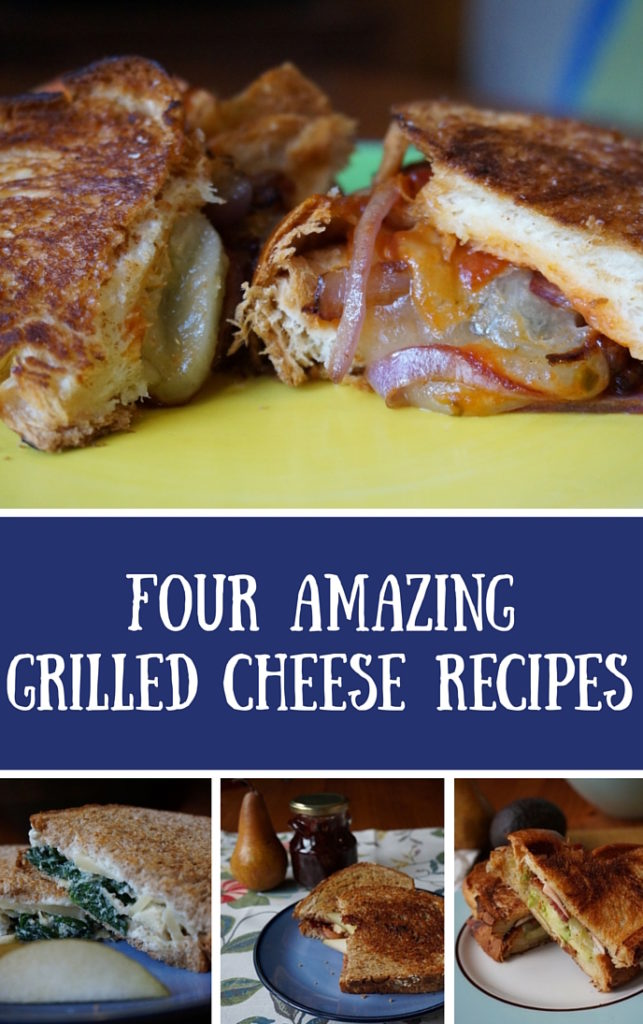 4 amazing Grilled Cheese Recipes