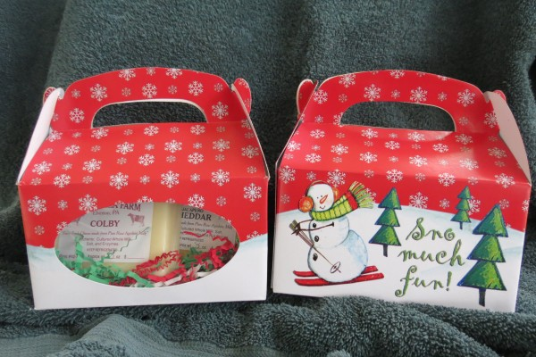 holiday snowman boxes