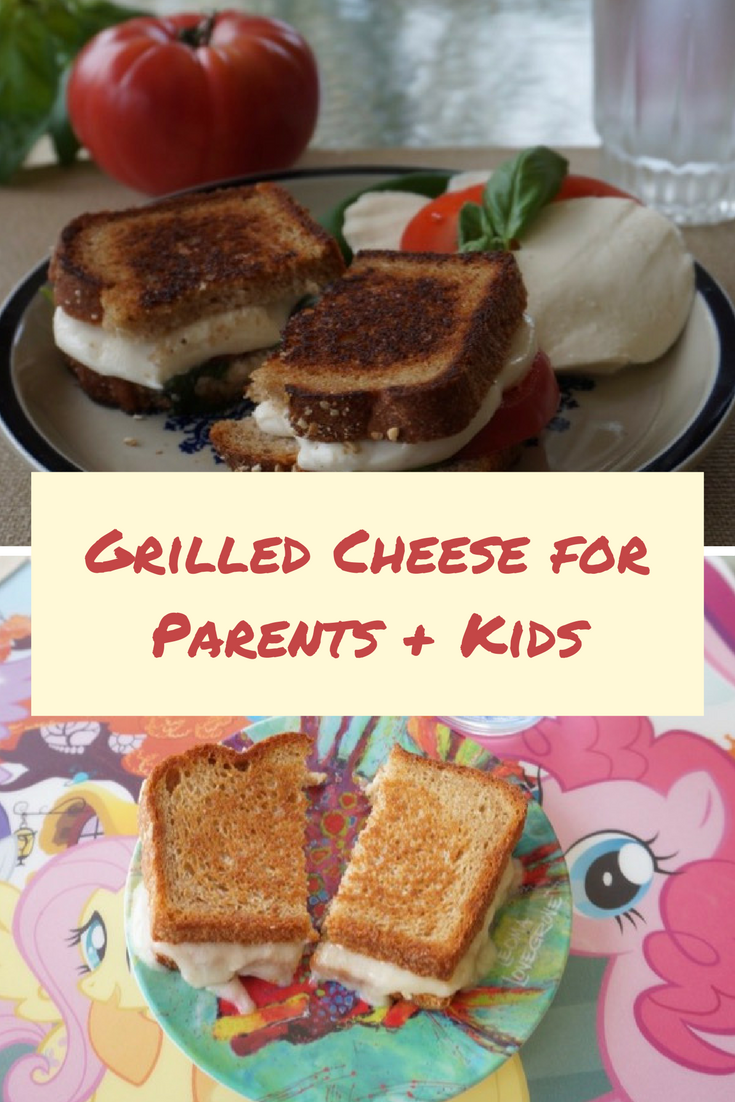 Do you and your kids like the same kind of grilled cheese? Here are 2 easy grilled cheese recipes sure to please both eaters!