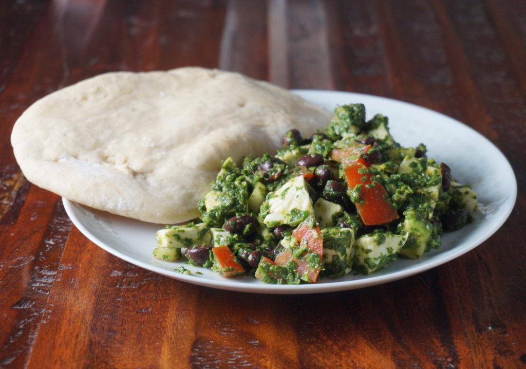 Mozzarella Chimichurri Salad