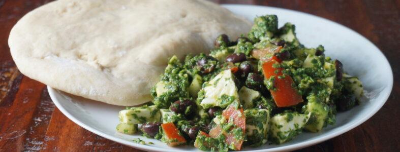 Mozzarella_Chimichurri_Salad