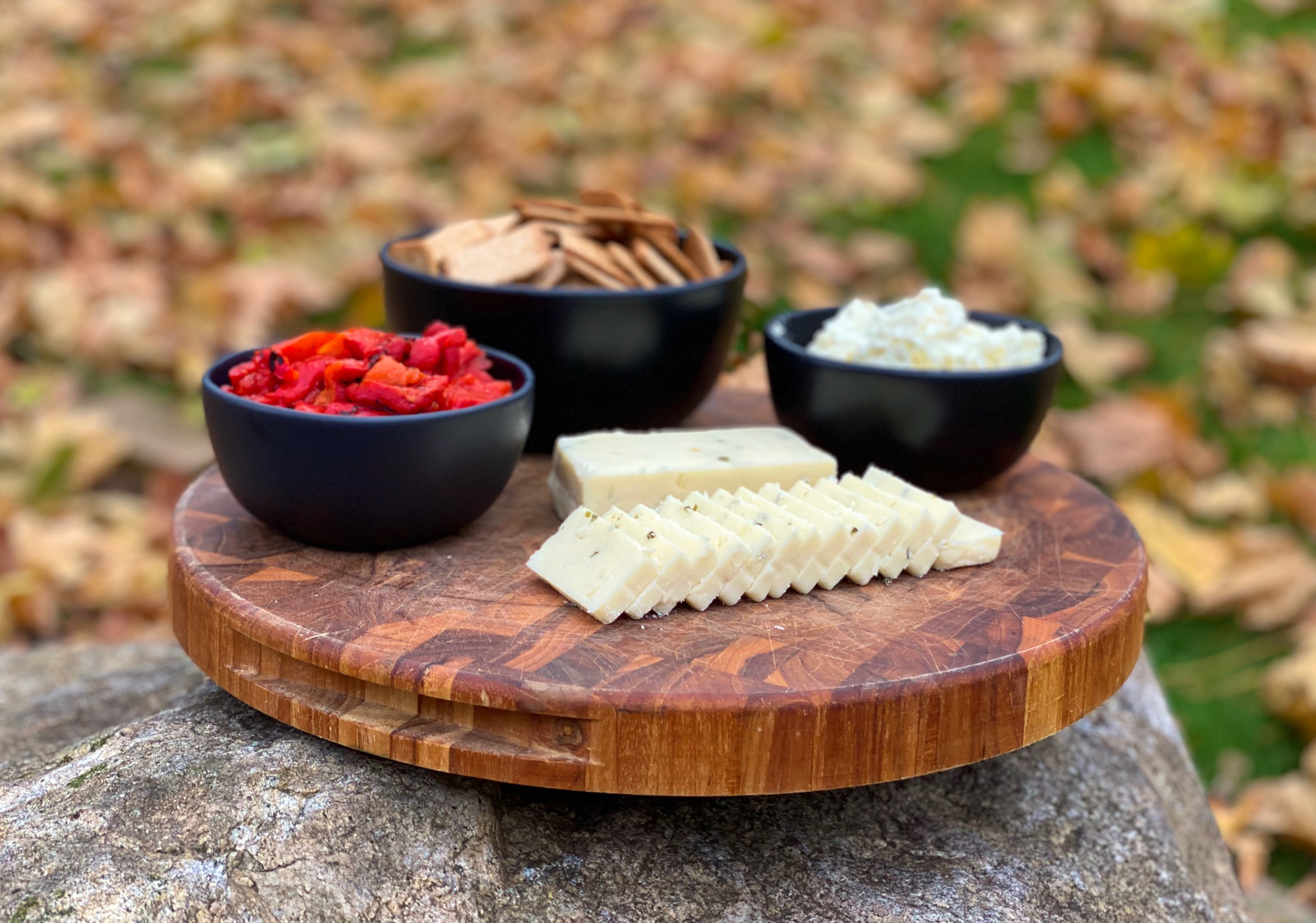holiday cheese plate