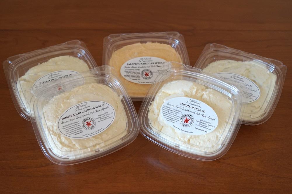 Conebella-Farm Cheese Spreads