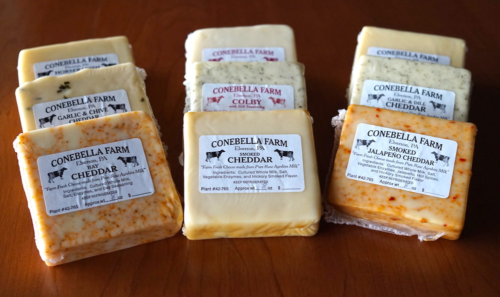 Conebella-Farm Bestselling Cheeses